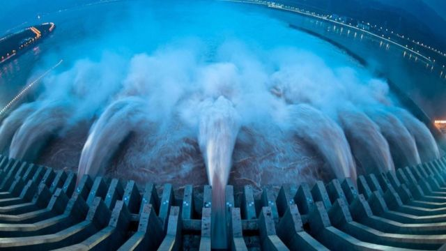 Three Gorges Dam for China