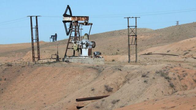 シリアの油井