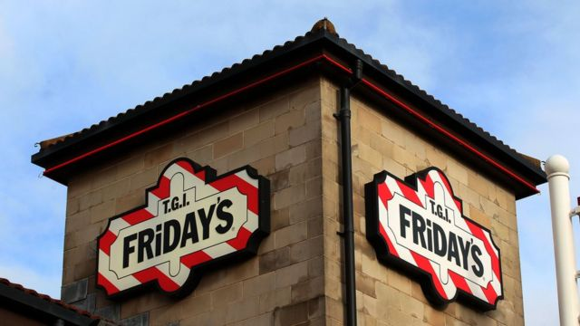 TGI Fridays workers walk out over tips and wages