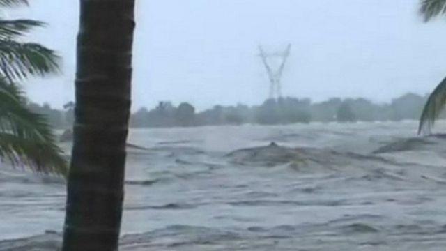 """Environ 655 644 personnes sont sinistrées au Mozambique après le passage du cyclone """"Dénio"""" dans le sud du pays"""
