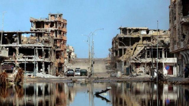 Igihugu ca Libiya carasambutse kuva aho Muammar Kaddafi yomorewe munyuma akicwa