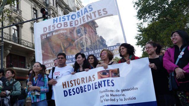 Histórias Desobedientes num protesto em 2019