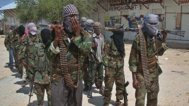 Abafashwe bakekwa kuja muri Somalia kwifatanya n'umugwi Al Shabaab