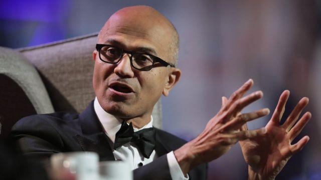 Satya Nadella, CEO da Microsoft,
