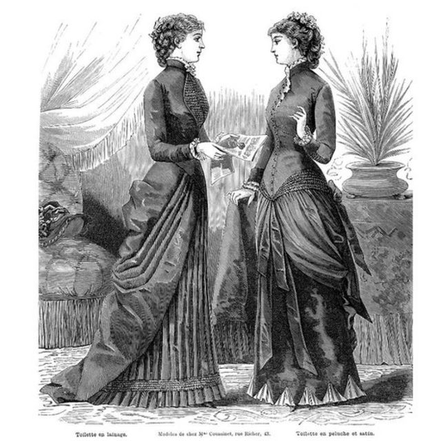 Dos mujeres conversando