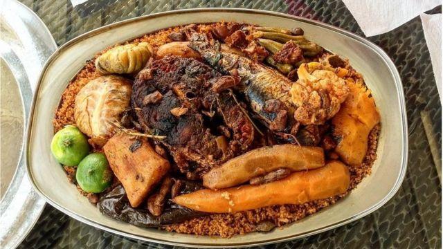 Le Téboudieune est le plat national du Sénégal