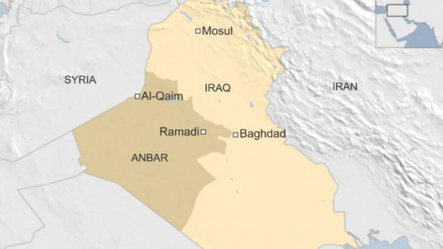 แผนที่อิรัก