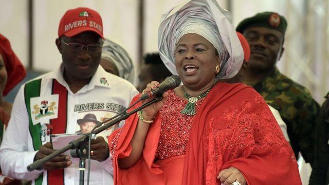 L'ex-Première dame du Nigeria, Patience Jonathan