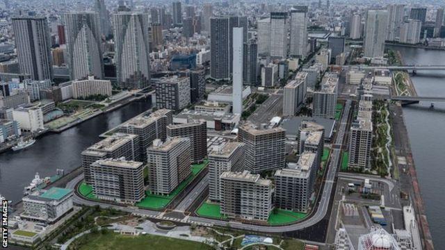 奥运选手村位于东京晴海区。