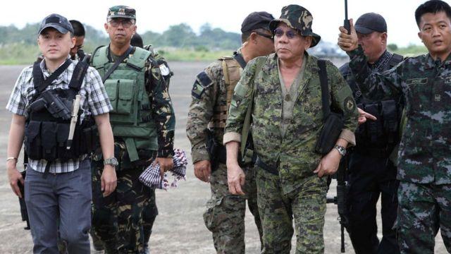 Marawi, Filipina, Duterte
