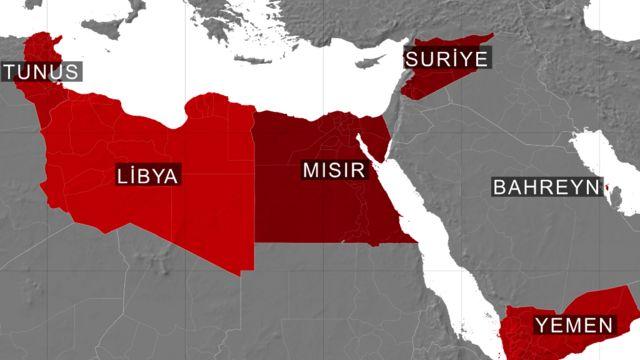 Arap Baharı'nda devrilen liderlere ne oldu? - BBC News Türkçe