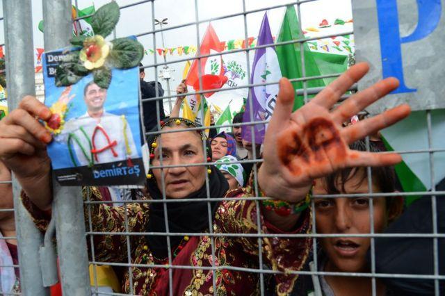 HDP referandum öncesi Diyarbakır'da bir 'Hayır' mitingi düzenlemişti
