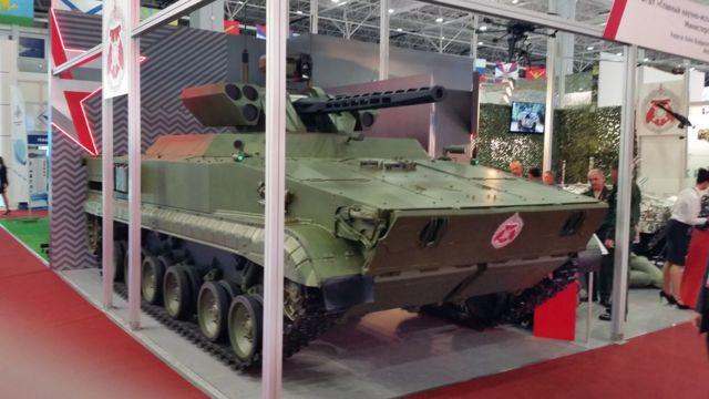 Роботанк, собранный на базе БМП-3
