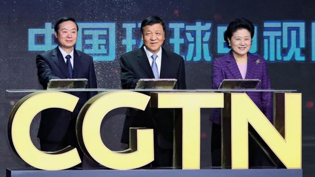 Chinese officials launched the international channel in 2016