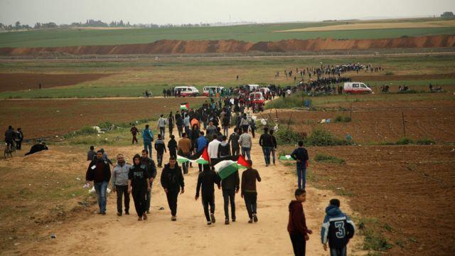 متاهرون فلسطينيون