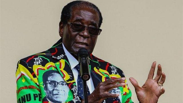 Selon Mugabe, il faut donner une chance à Donald Trump.