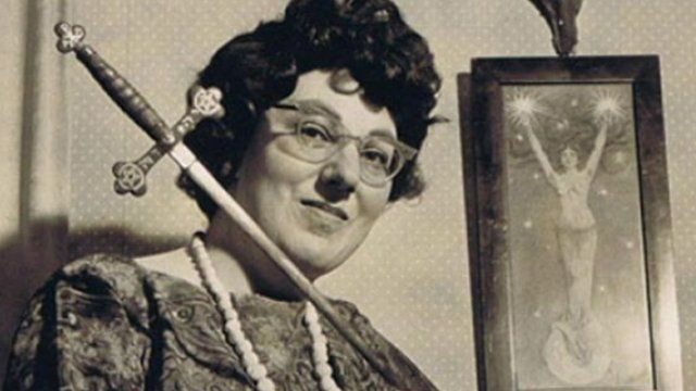 Doreen Valiente was credited with laying the foundations for modern paganism