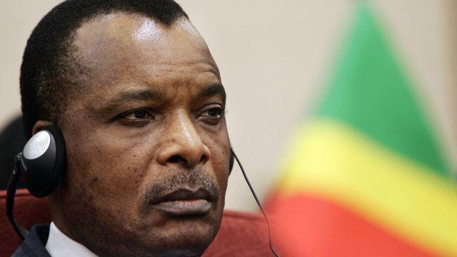 Le président Dénis Sassou-Nguesso