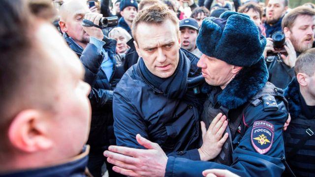 俄羅斯抗議