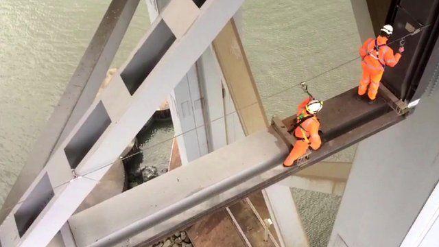 Engineers on the Forth Bridge