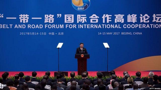 चीन के राष्ट्रपति शी जिनपिंग ने कहा है कि बीआरआई परियोजना चीन का क्लब बनाने की योजना नहीं है