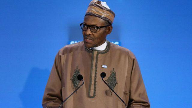Prezida Muhammadu Buhari