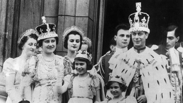 Coronación de Jorge VI en Inglaterra en 1937