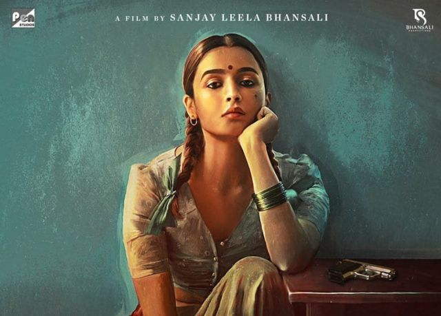 संजय लीला भंसाली की आने वाली फ़िल्म गंगूबाई का पोस्टर