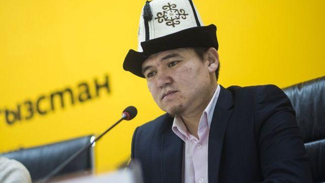 Муфтиятын ажылык бөлүмүнүн башчысы Жолдошбек Абдылдаев.