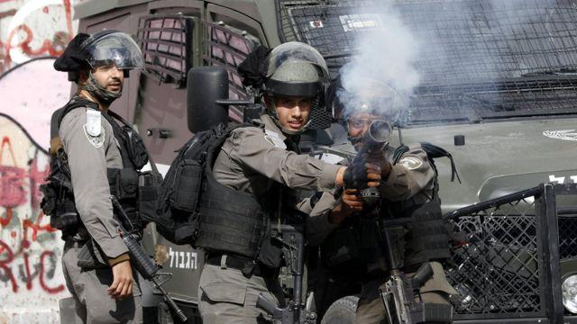 قوات الأمن الإسرائيلية اشتبكت مع المتظاهرين في بيت لحم