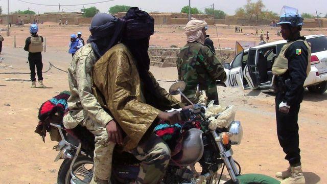 Des soldats onusiens dans la région de Kidal