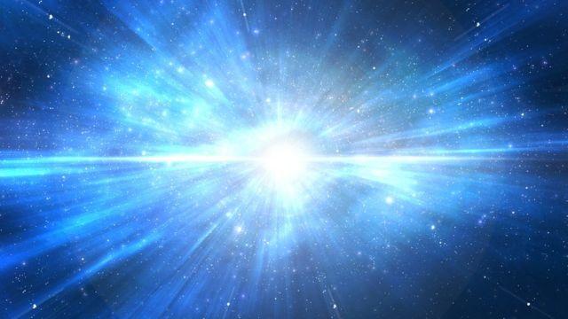 Ilustración del Big Bang