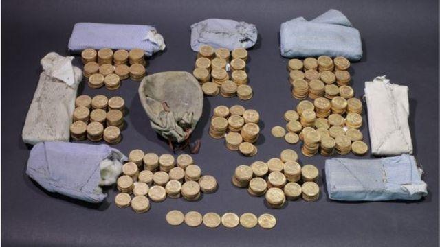 Shropshire piano gold coin hoard declared treasure