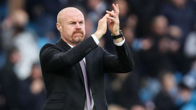 Sean Dyche applauds Burnley fans