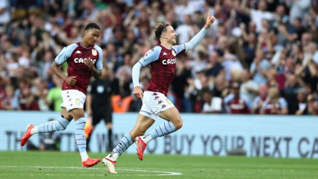 Matty Cash scores for Aston Villa