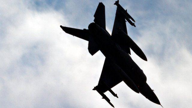 Turkish air force jet, file pic 2013