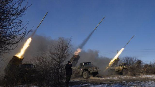 Артиллерия в Днбассе