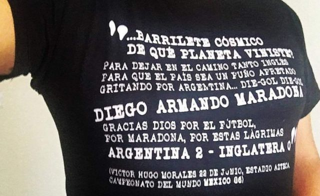 Relato del gol de Diego