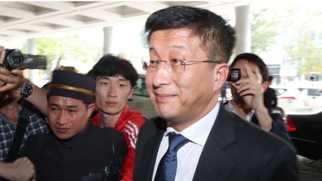 Спецпредставитель государственного совета КНДР по делам США Ким Хек Чхоль