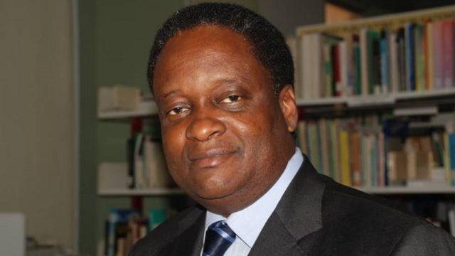 Dr Pierre Mpele a former WHO representative