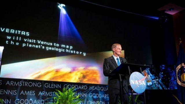 NASA yöneticisi Bill Nelson, Venüs projesini Çarşamba akşamı açıkladı