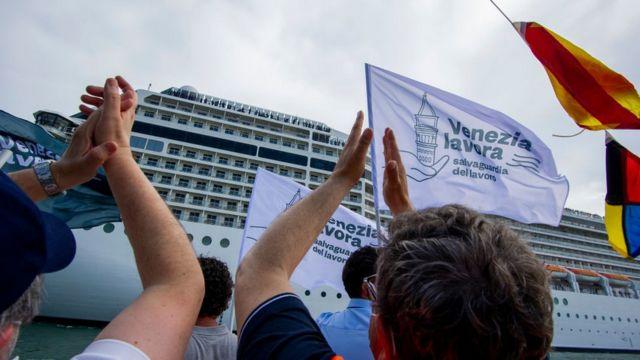 Венеция круизный лайнер