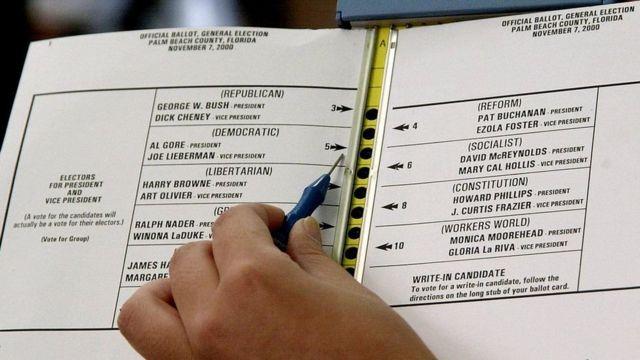 A ballot