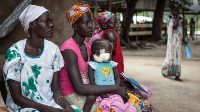 Güney Sudan'da açlık