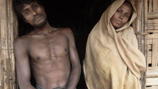 বাংলাদেশে আশ্রয় নিয়েছে হাজার হাজার রোহিঙ্গা শরণার্থী