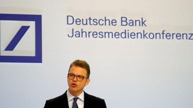 Deutsche Bank chief executive Christian Sewing