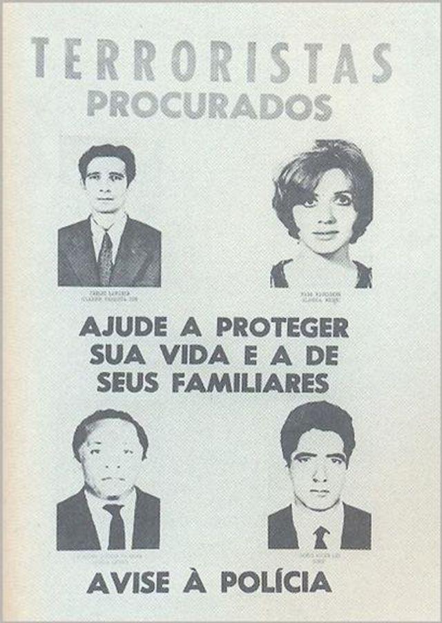 "Foto de Lamarca em cartaz de ""terroristas procurados"""