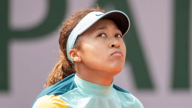 Naomi Osaka entrenando para el abierto de Rolland Garros, 29 mayo 2021
