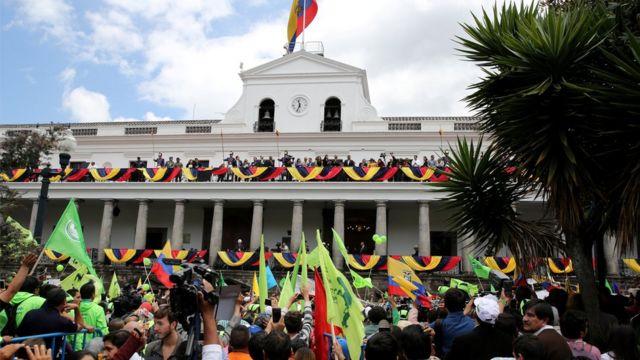 Palacio de gobierno de Ecuador