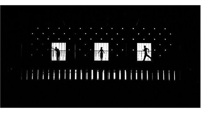 En el escenario de la vida, On the Stage Of Life, 1954, Unique, cortesía de M97 Gallery, Shanghái